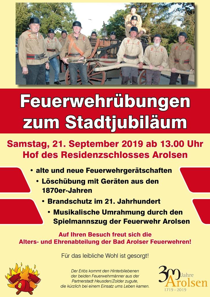 Plakat Stadtjubiläum